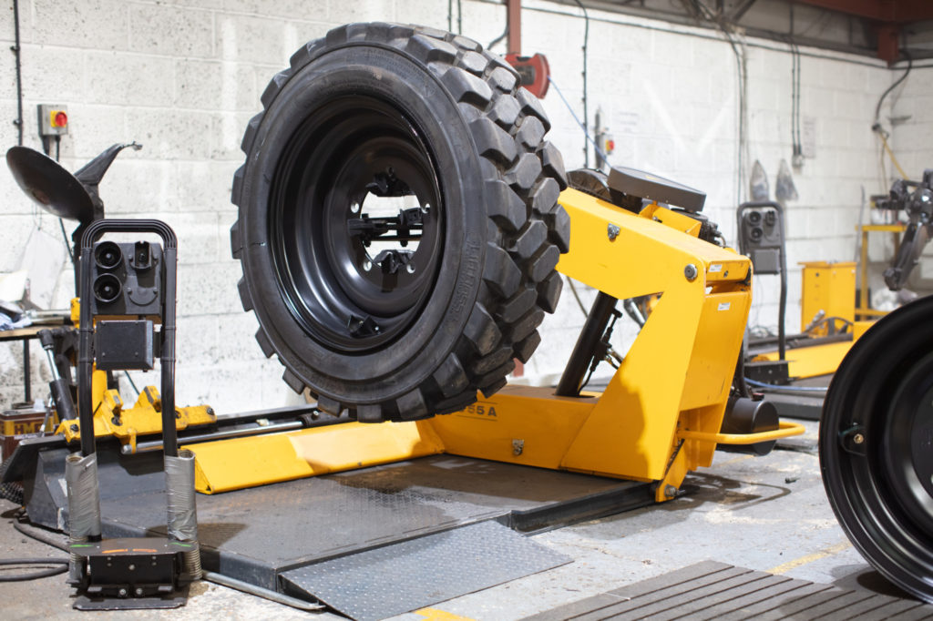 Filling Tyres with Foam
